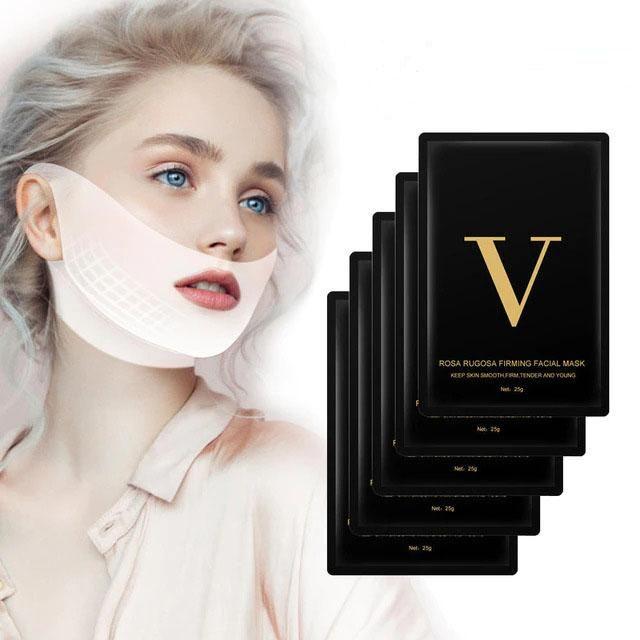 Miracle V Shape Gesichtsmaske für ihn – 10er Pack Schwarz