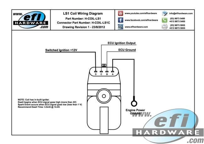 LS1 Coil Wiring Diagram Auto Repairs Pinterest Fuel injection
