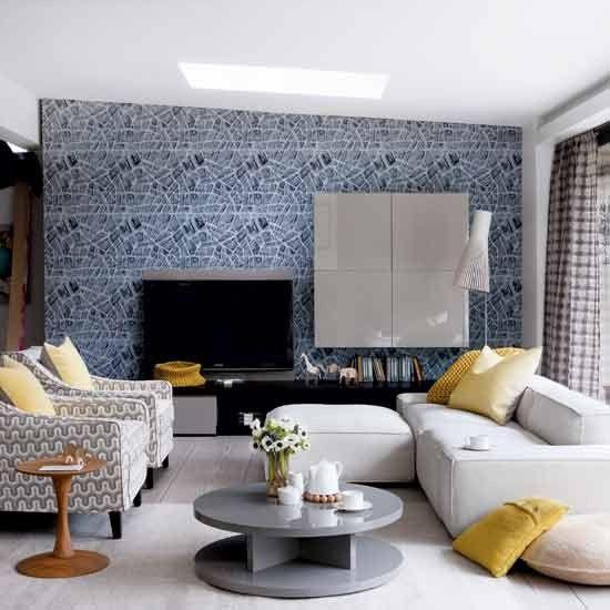 Modern Living Room Gray alwinton corner sofa handmade fabric | living rooms, living room
