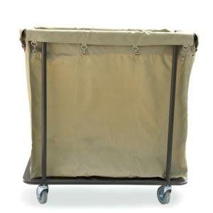 Amazon Com Lavex 14 Bushel Metal Frame Laundry Trash Cart With