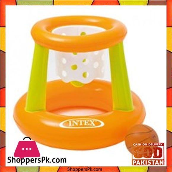 Buy Intex Floating Hoops 58504 At Best Price In Pakistan Pool Basketball Pool Toys Intex