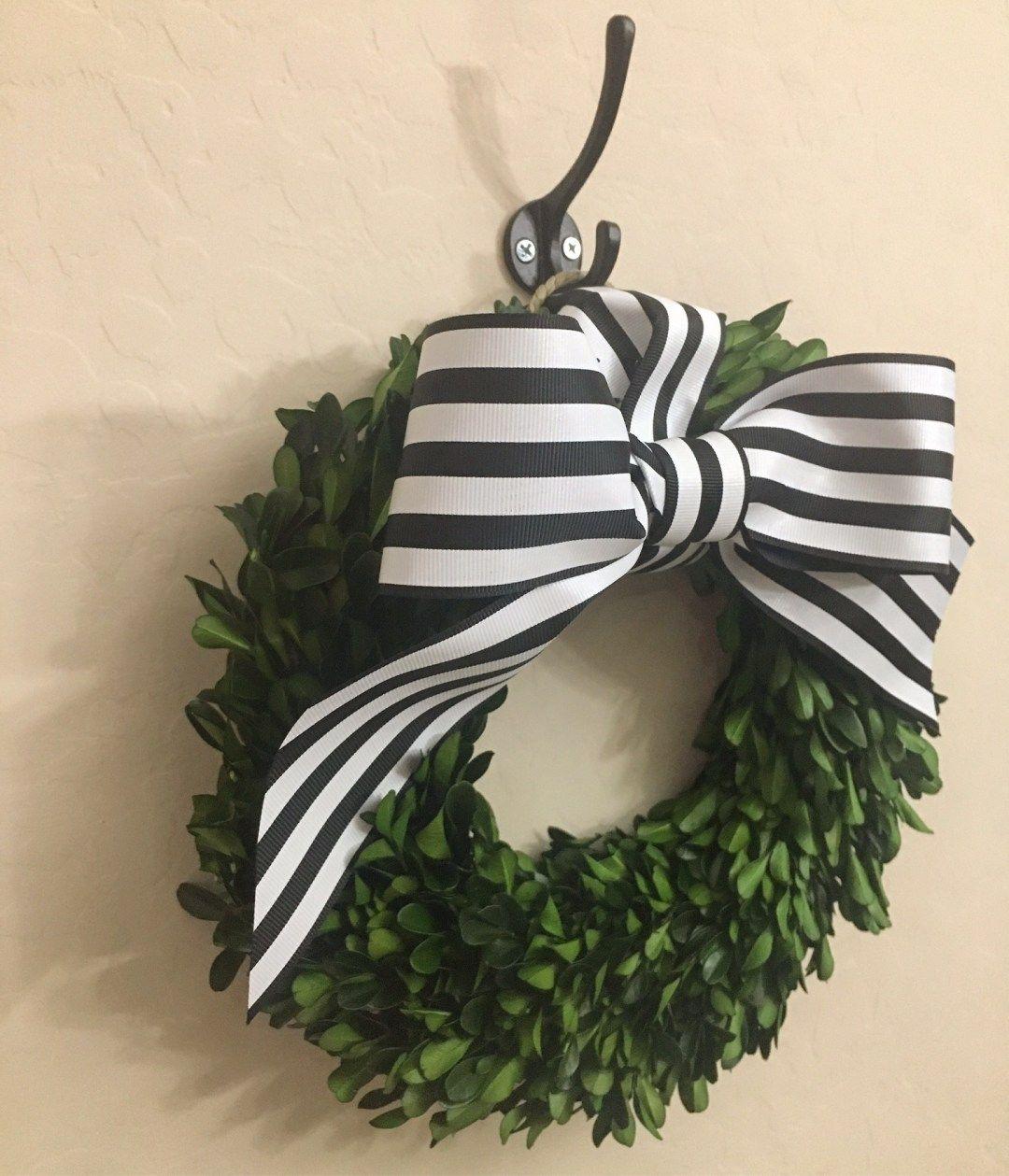 Boxwood Wreath Diy, Boxwood