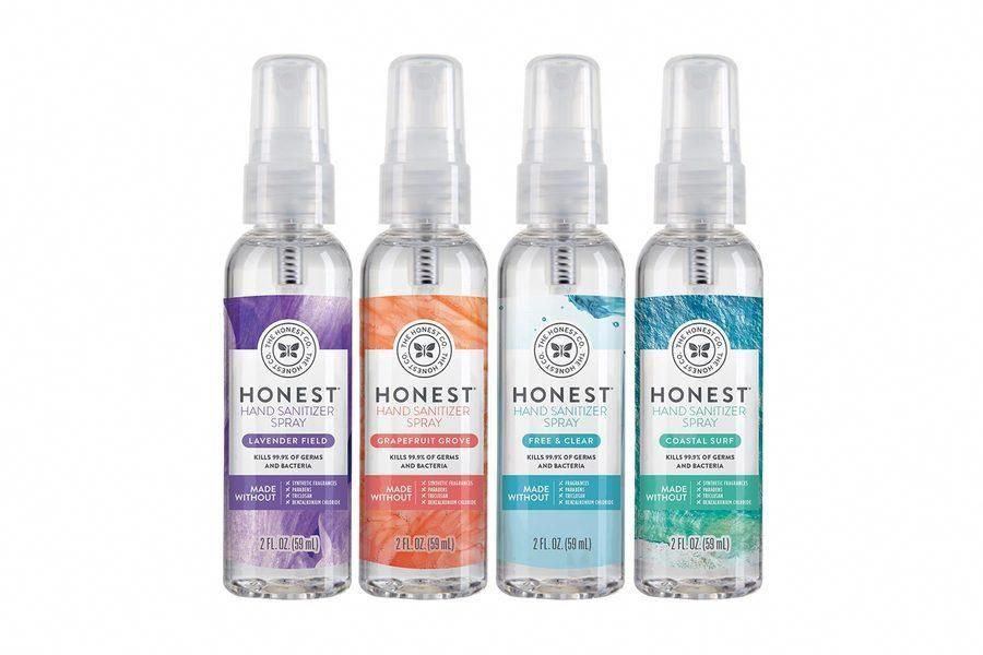 Honest Hand Sanitizer Travel Size In 2020 Hand Sanitizer