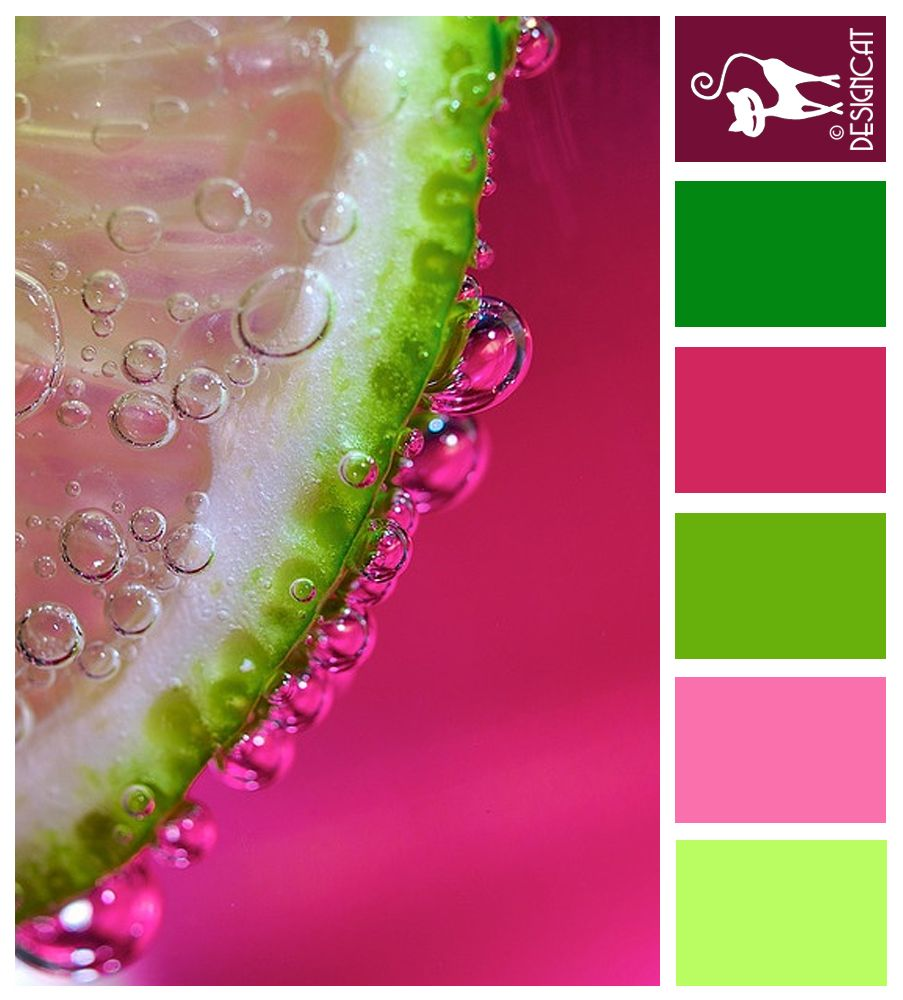 Hot Pink, Green, Lime, Pastel