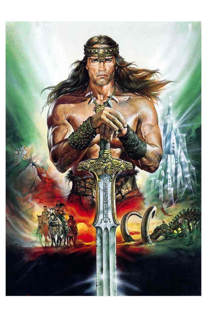 Collection Of Conan The Barbarian Movie Posters Album On Imgur Conan The Barbarian Conan Movie Barbarian Movie