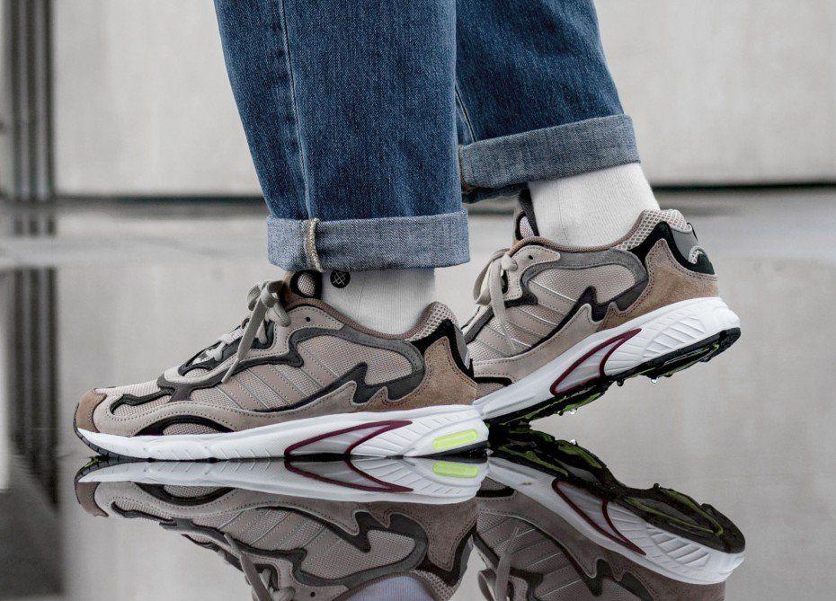 adidas Temper Run | Adidas, Brown and grey, Sneakers
