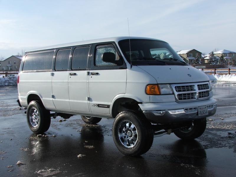 custom conversion vans | Boulder Offroad 4X4 Vans | VANNIN