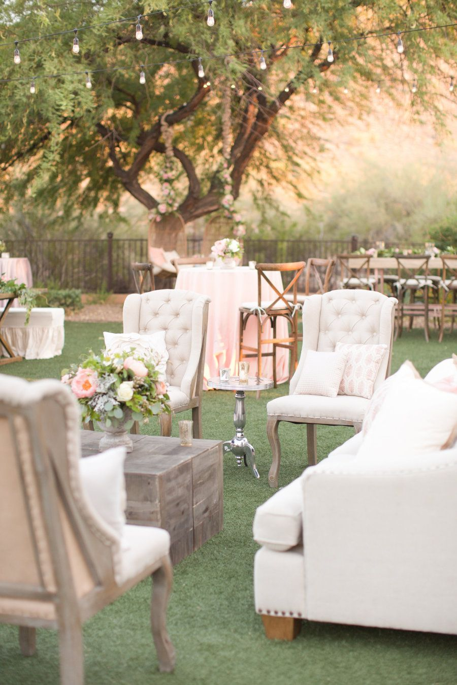 Rustic + Romantic Arizona Summer Wedding