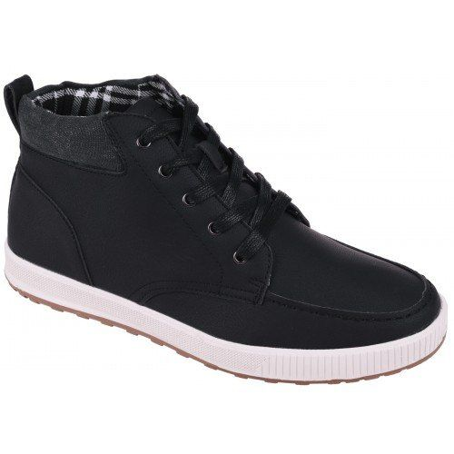 Zdjecie Meskie Buty Miejskie Bevis Mid 64240 Black Elbrus Z Firmy Elbrus Top Sneakers High Top Sneakers Black