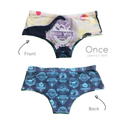 6163e41eae9be Primark Ladies JURASSIC WORLD DINOSAUR Hipster Briefs Underwear ...
