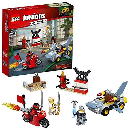 Requin Du De Lego 10739 Jeu Lattaque Juniors Construction xdBoCer