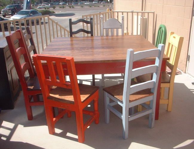 Southwest Mexican Dining Tables Wohnung Haus