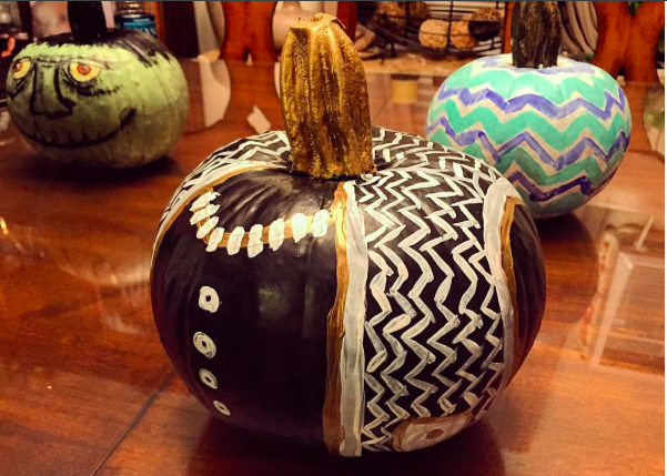 my J.Crew inspired pumpkin! #jcrew
