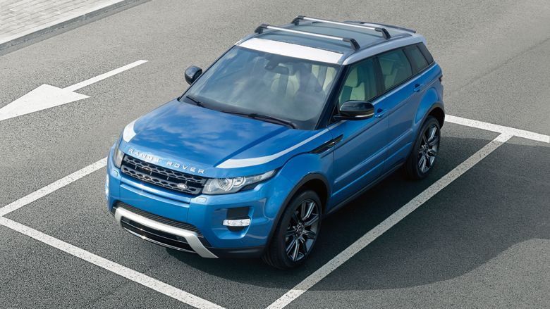 Range Rover Evoque Dynamic In Mauritius Blue White Contrast Roof And Decals Range Rover Evoque Range Rover White Suv