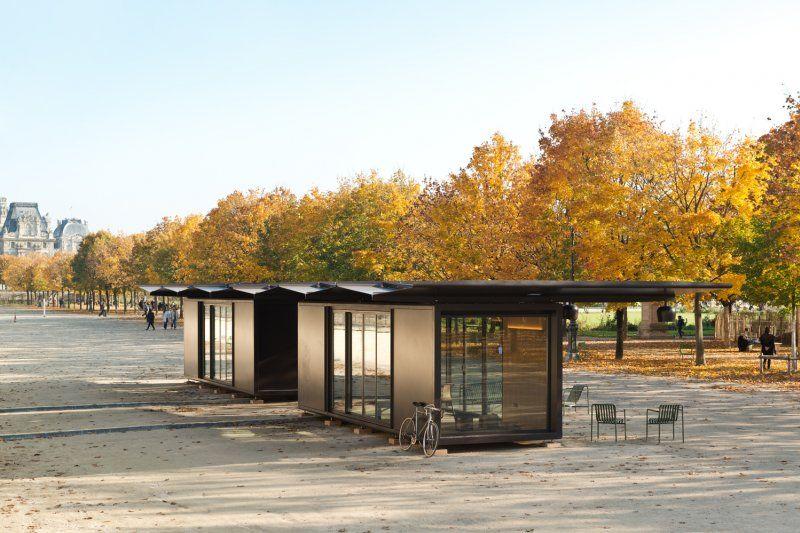 Ronan & Erwan Bouroullec Design - Kiosque, pavillon modulable. Paris ...