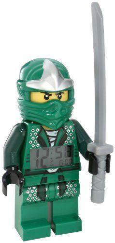 Caden lego 9005763 ninjago lloyd zx minifigure clock for Kinderzimmer ninjago