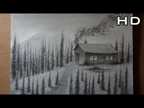 Como Dibujar Un Sencillo Paisaje A Lapiz Paso A Paso Tutorial De Dibujo Youtube Paisaje A Lapiz Dibujos Tutorial De Dibujo