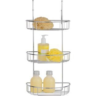 Buy 3 Tier Extra Large Shower Caddy At Argos.co.uk   Your Online Shop For  Bathroom Shelves And Units.