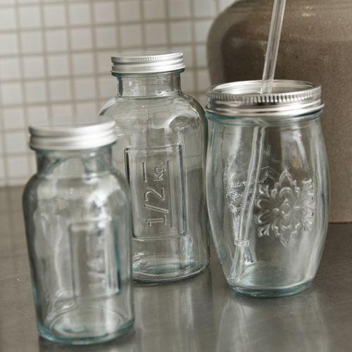 bocal de conservation en verre recycl couvercle m tal h bsch mm maison to cook pour. Black Bedroom Furniture Sets. Home Design Ideas
