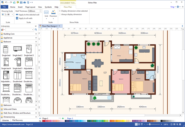The Best Floor Plan Creator Software For Windows And Review Floor Plan Creator Plan Maker Simple Floor Plans