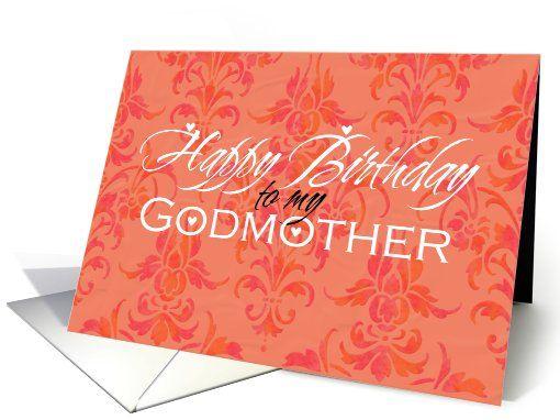 Happy Birthday Godmother Card: Happy Birthday Godmother Card
