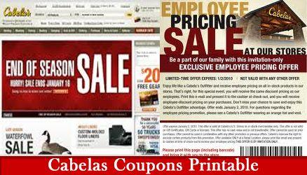Cabelas Coupons Printable Cabelas Coupon Codes Printable Coupons Coupons Cabelas