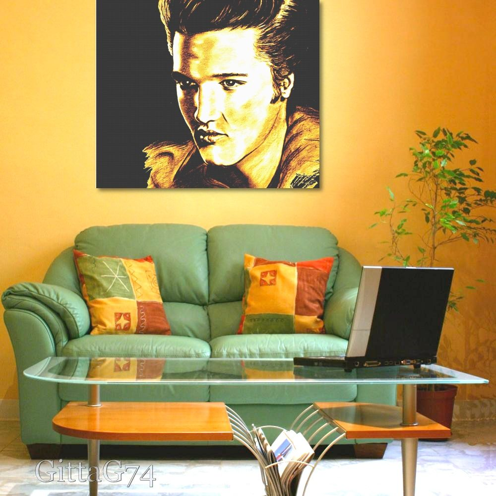 Elvis In Gold And Black\