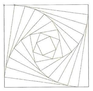 L 39 illusion d 39 optique geometrie en 2019 illusion art geometric art et illusion drawings - Illusion optique dessin ...