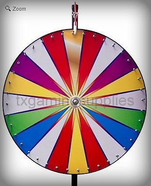 36 dry erase color spin to win carnival trade show game prize wheel wheels of fortune prize. Black Bedroom Furniture Sets. Home Design Ideas