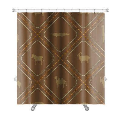 Gear New Animals Wild Animals Premium Shower Curtain