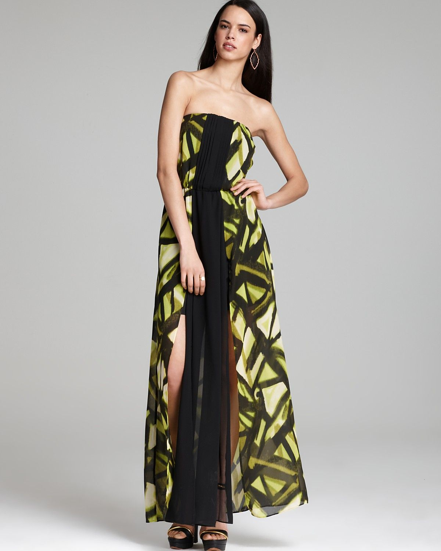 Guess Maxi Dress For Beach Wedding On Black Bridal Bliss