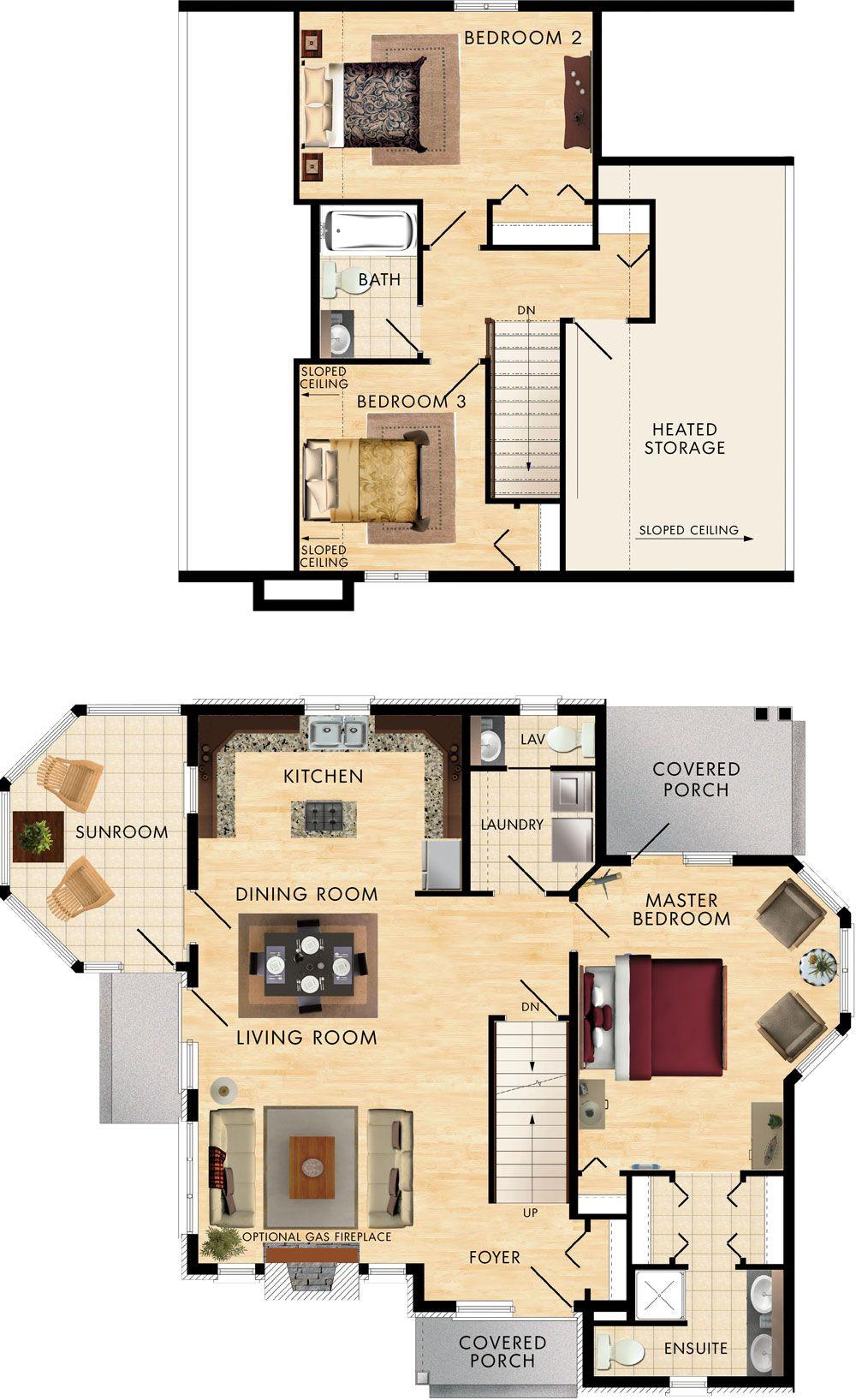 Caldwell cove floor plan get rid of bathroom downstairs make