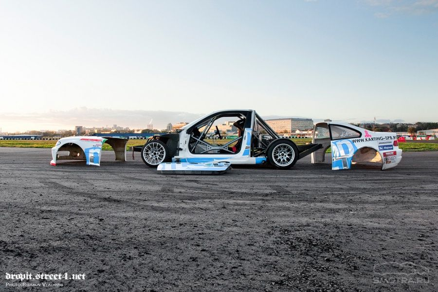 Amazing Bmw 3 Series Drift Car The Tube Frame Is Completely