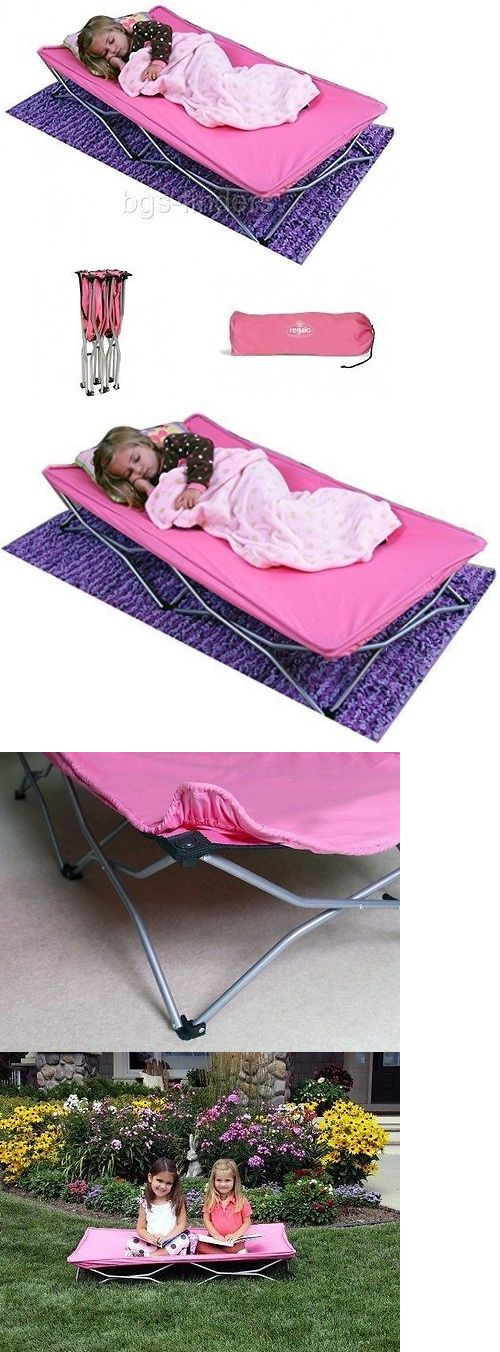 Cots 87099: Regalo Portable Travel Bed For Kids Children Foldable Toddler  Couch Chair Campin -