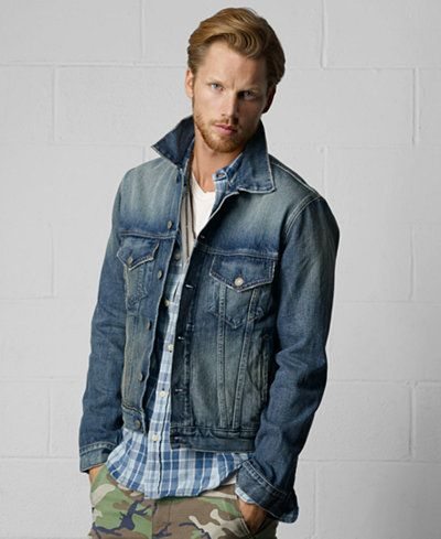 Denim & Supply Ralph Lauren Men's Denim Jacket | Ralph lauren ...