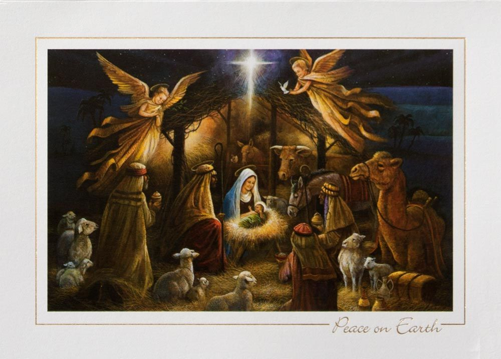 merry christmas jesus in manger | merry-christmas-nativity-hd ...