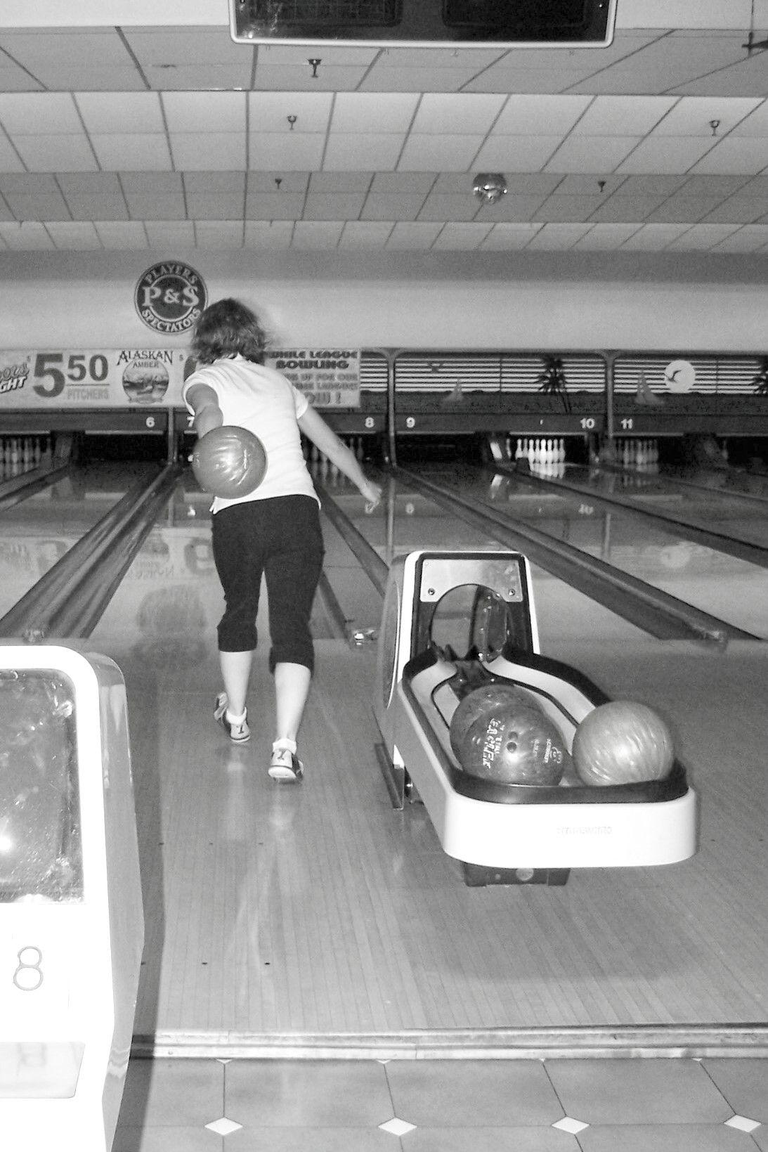 Bowling Fotografia Fotografia Vintage