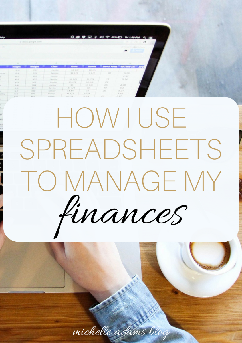 how i use spreadsheets to manage my finances free templates