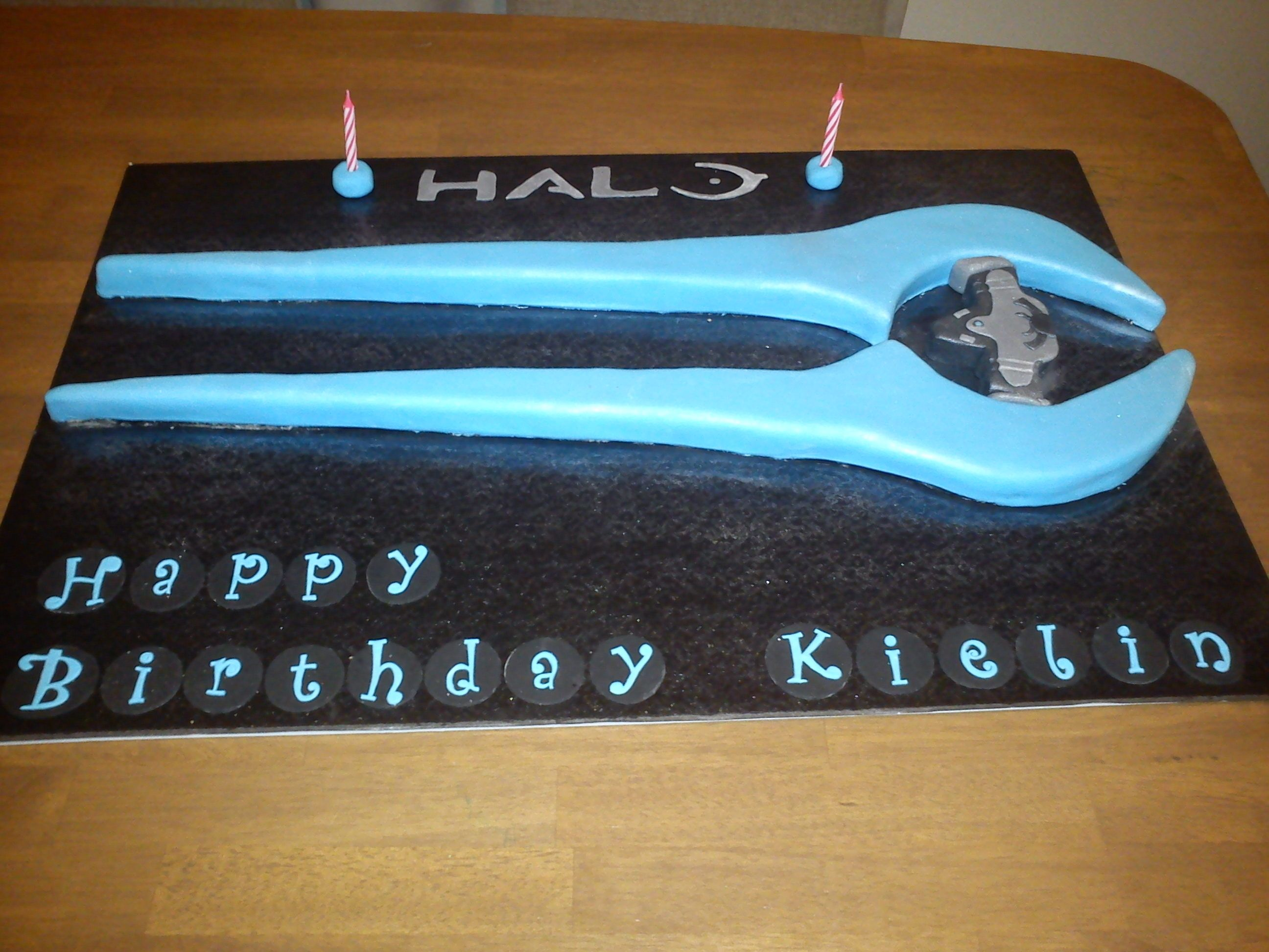 Halo cake for my sons birthday Cakes Pinterest Halo cake Sons
