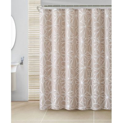 Cypress 13 Piece Jacquard Shower Curtain Set Wayfair Shower