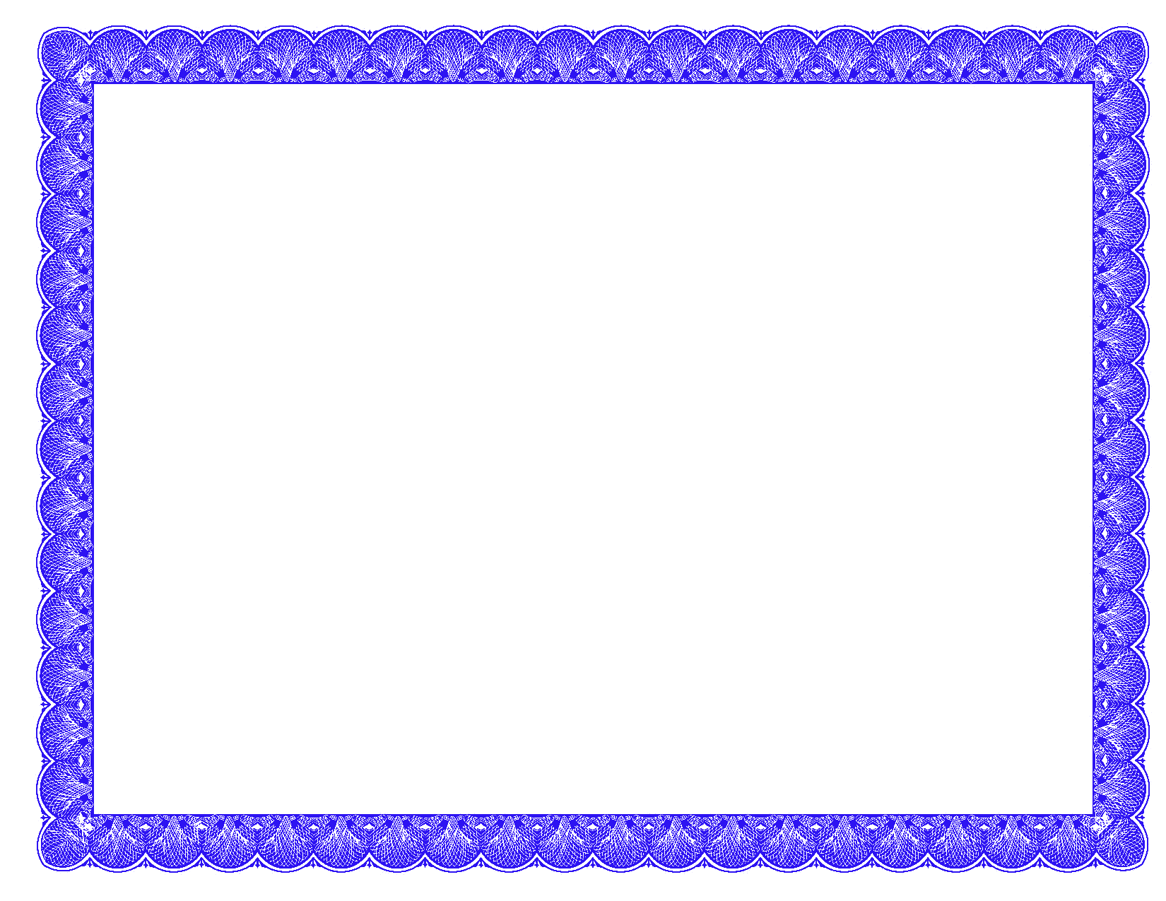 Fancy borders photoshopforumscom blue fancy certificate border ts pinterest certificate for Blue certificate border