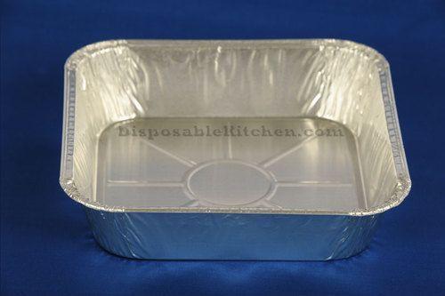 "Disposable8"""" Aluminum Square Pans - 500 Per Case"