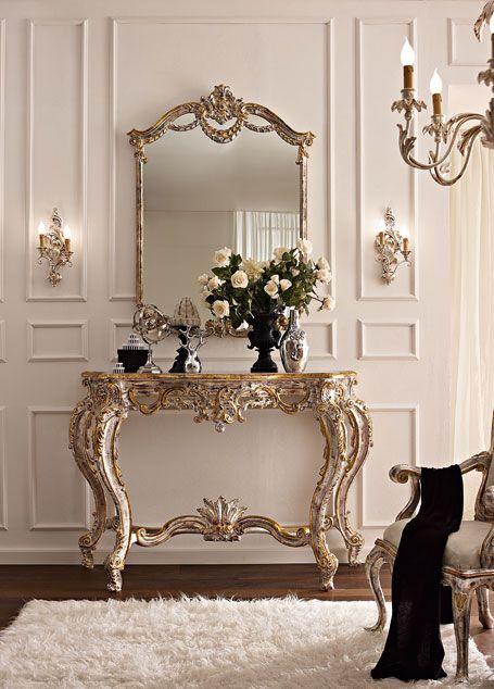 Mobili consolle classiche e di lusso in stile veneziano e fiorentino ...