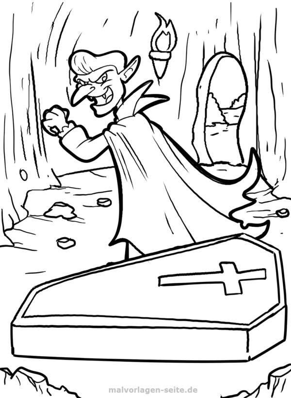 Vampirin Malvorlage Coloring And Malvorlagan