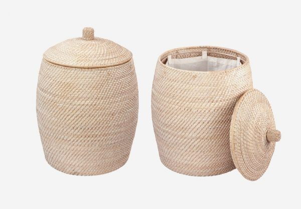 50 Unique Laundry Bags Baskets To Fit Any Theme Woven Laundry Basket Laundry Basket With Lid Laundry Hamper