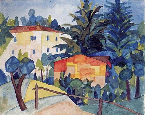 Hermann Hesse S Watercolour Painting Of The Ticino Hermann Hesse