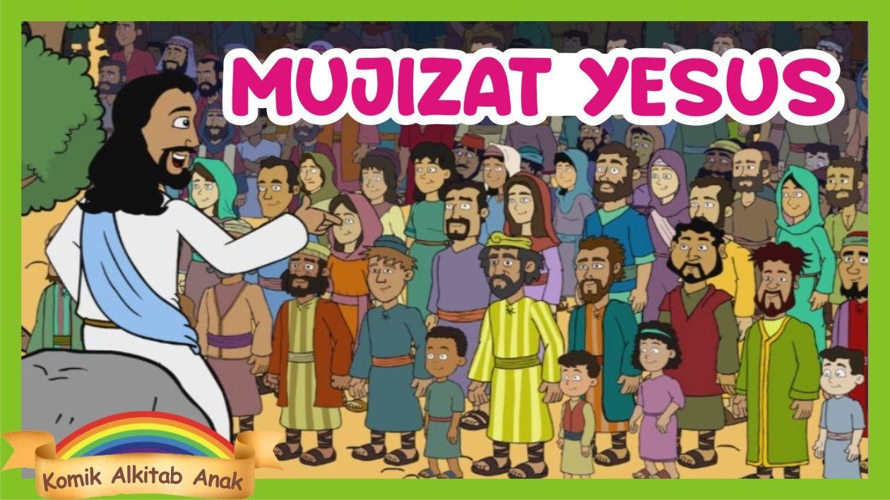 Film Tuhan Yesus Memberi Makan 4000 Orang Animasi Mujizat Yesus Alkitab Anak Sekolah Minggu Film Spiderman Fictional Characters