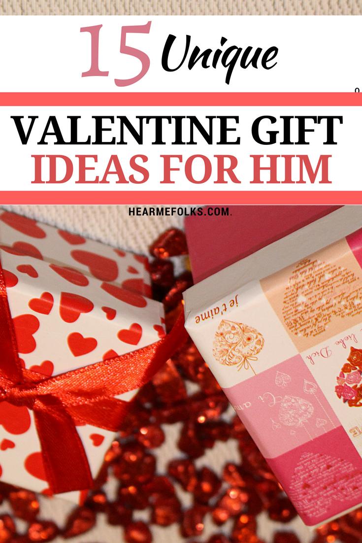 Photo of 15 Unique Valentine's Day Gift Ideas for Him Under $25 | HearMeFolks