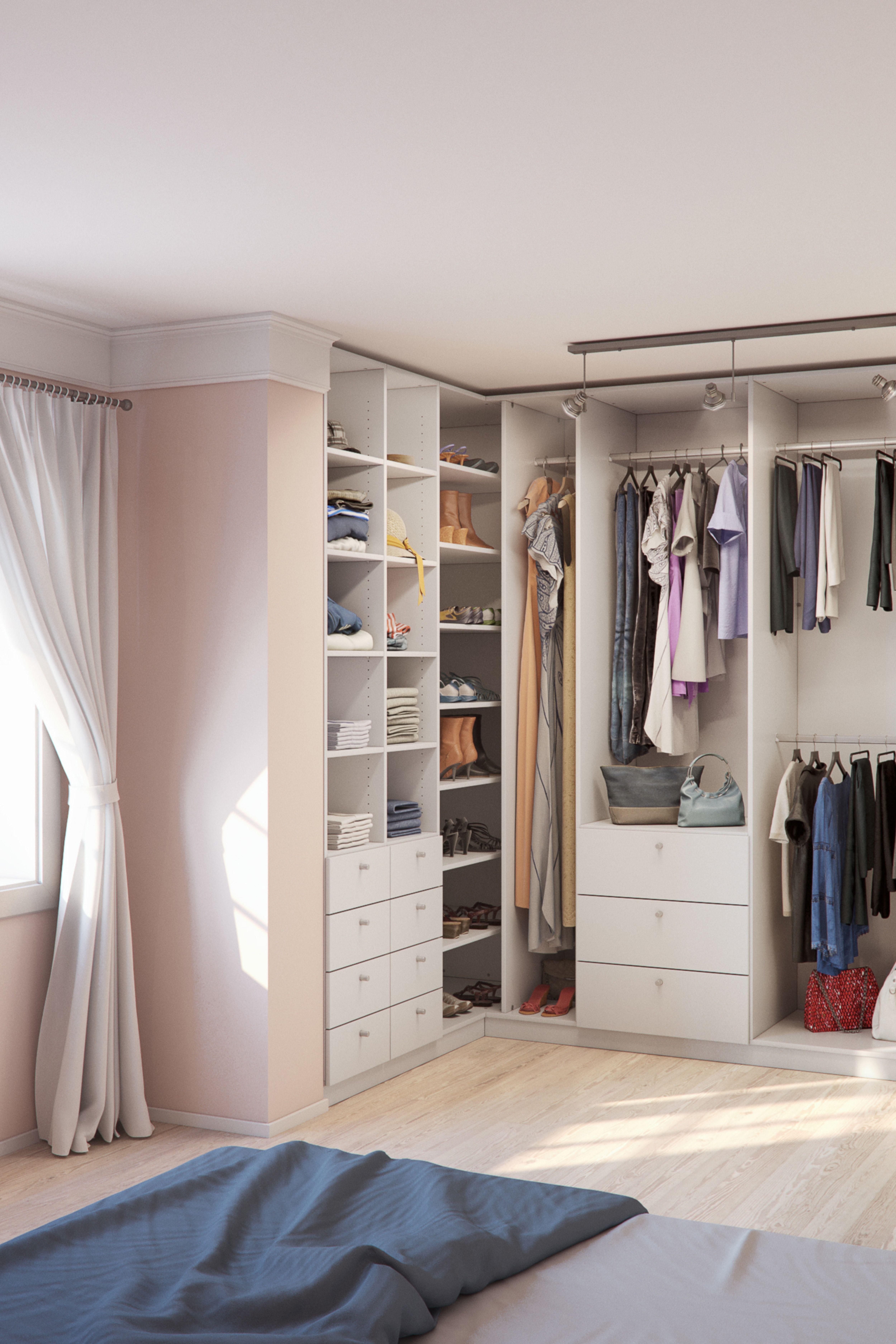 Nischen Und Ecken In Stauraum Fur Kleidung Verwandeln Ankleide Zimmer Ankleide Ankleidezimmer