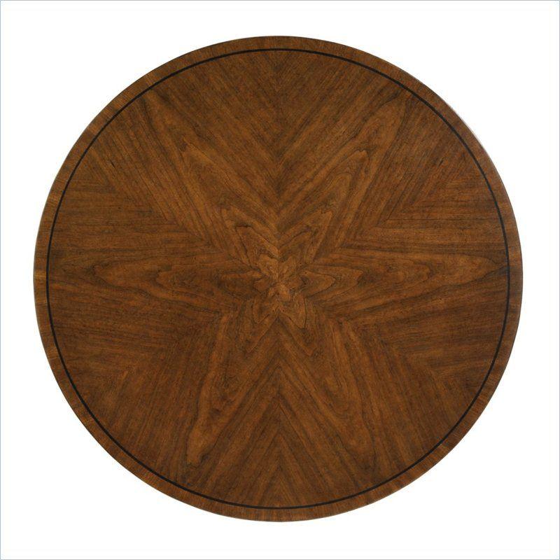 Fairfax-Round Lamp Table in Potomac Cherry - 321-15-09